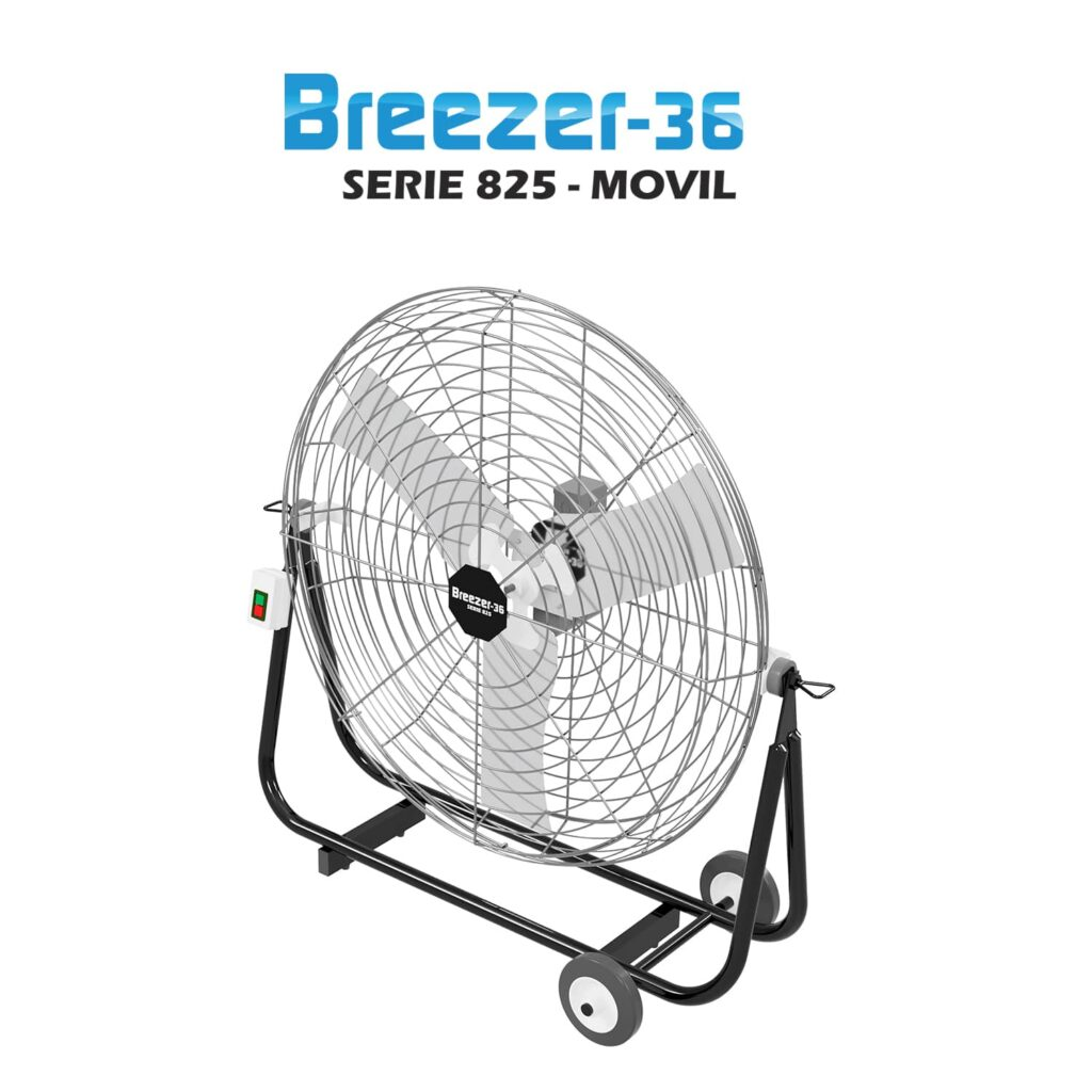 ventilador industrial - Breezer movil